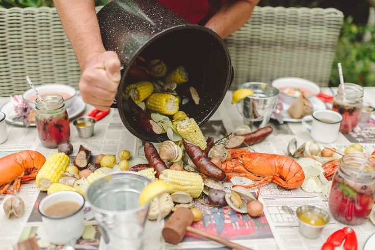 Rock Lobster Feast by Tiffani Thiessen • Photos by  Rebecca Sanabria