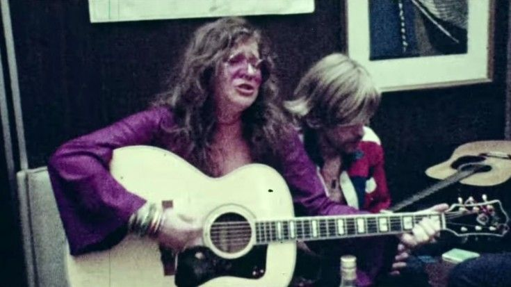 """Rare Footage And Interview of Janis Joplin In Her Natural State – Live Footage Singing """"Me And Bobby McGee"""""""