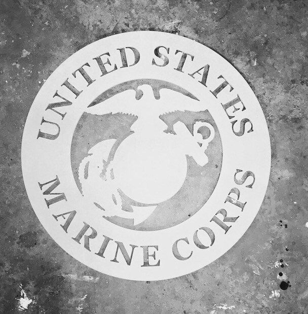 Marine Wall Plaque! Wall Plaque, Marine Decor, Marine Wall Art Marine Family Decor, Marine Wreath,Military Decor, Army, Coast Guard, Usaf by Southernismboutique on Etsy https://www.etsy.com/listing/293705317/marine-wall-plaque-wall-plaque-marine