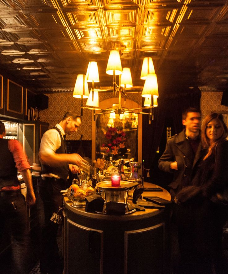 Speakeasy NYC - Best Speakeasies New York Bars | Looking for a place to bring out your inner Gatsby era self? Try visiting a few of these NYC speakeasies. #refinery29 http://www.refinery29.com/speakeasy-nyc
