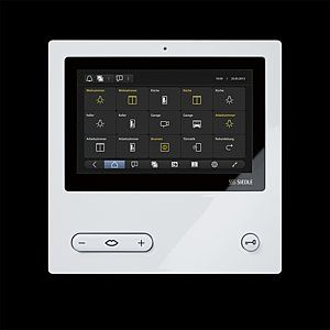 House technique should be as uncomplicated as possible. Intercoms for example, secure access to your own home, everybody can use right away. Small screens and tiny buttons are as out of place. 's why Siedle has designed the new video panels particularly ergonomic.