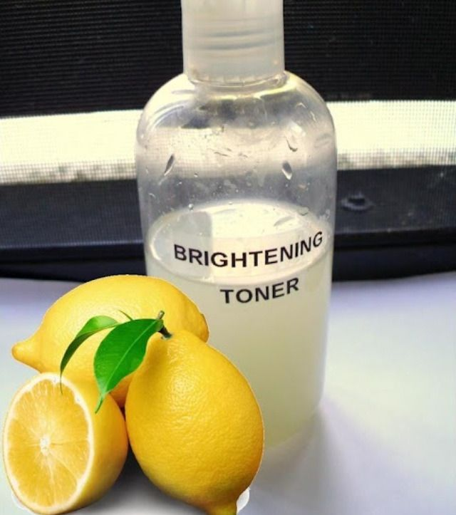 DIY Face brightening toner! Benefits: Tightens pores and reduces inflammation, reduce blemishes and lightens skin. Use facial toner both morning and night for a deeper cleanse, smaller pores and...