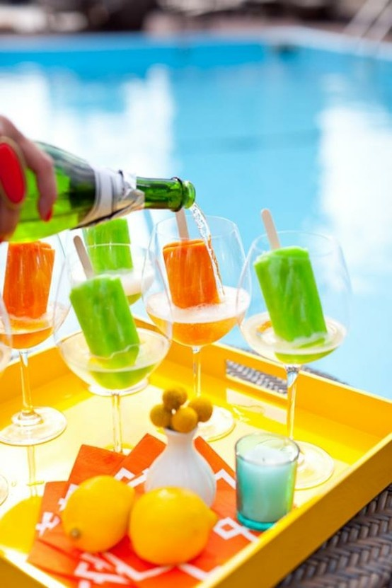 Brooch the Subject: Prosecco + Popsicle