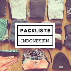 Du fragst dich, was du für deinen Indonesien Urlaub in den Rucksack packen solltest? Erfahre es in der ultimativen Packliste für Indonesien!