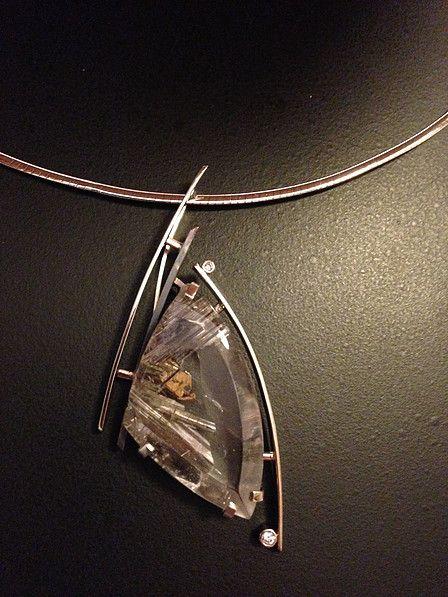 Pendants designed by Brooke Sutphin, owner and designer of B.Shannon Designs.