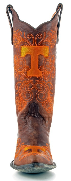 #gamedayboots #tennesseeCowboy Boots, Football, Clothing, Closets, Boots Must, Tennessee, Boots I, Big Orange, Rocky Top