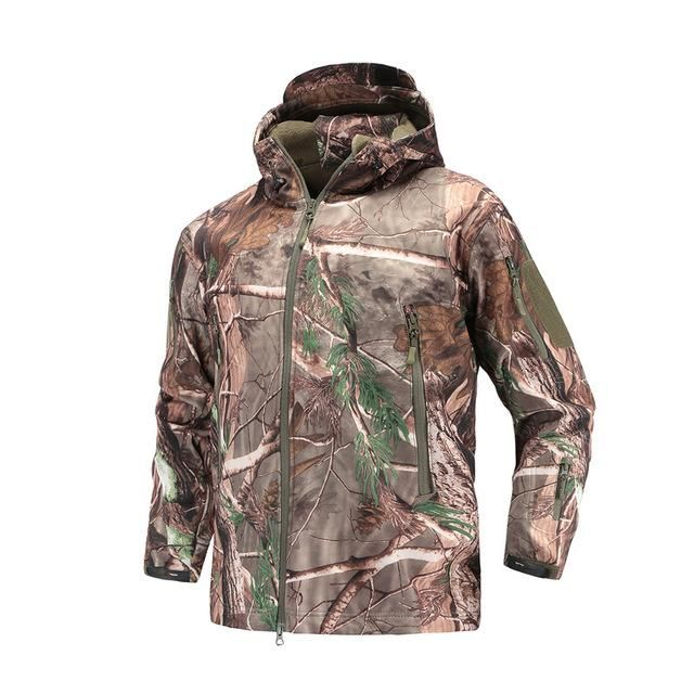 Mens Black Soft Shell Vest with Toxic Green /& Yellow Camouflage