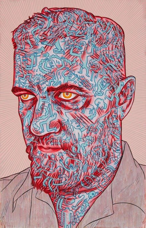 Conrad Botes inspiration for print texture and stencils/masks