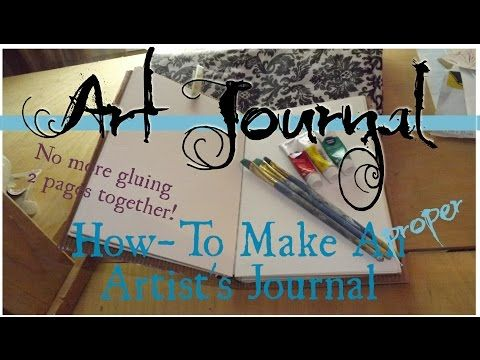 What is art journaling? What is visual journaling? Is there really a difference? - YouTube