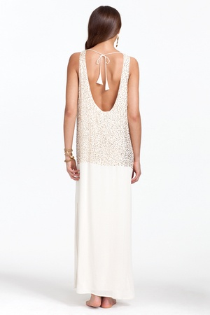 Kaira Sequin Dress :: Calypso St. Barth