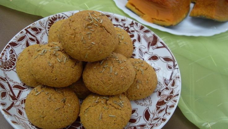 Rozmaringos - sütőtökös pogácsa (paleo)