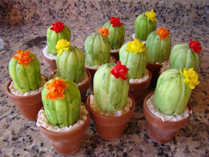 pinterest manualidades cactus en porcelana fria - Buscar con Google