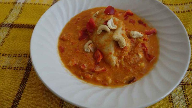 Mmmmhhh - Paprika Cashew Huhn, so zart und saftig! ✓ glutenfrei ✓laktosefrei ✓ zuckerfrei ➤ 100% natürlich und lecker. Jetzt nachkochen!