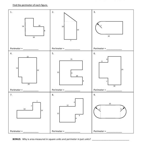 Area And Perimeter Of Compound Shapes Worksheet Pdf In 2020 With Images Cursive Writing Practice Sheets Writing Practice Sheets Shapes Worksheets