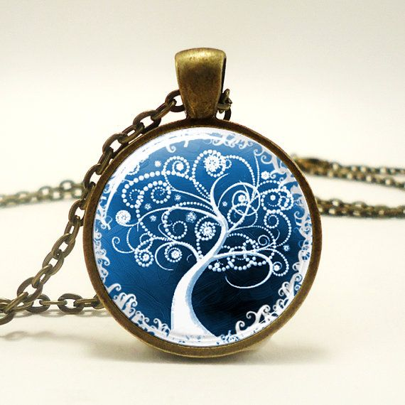 Tree Of Life Pendant Woodland Jewelry Bronze 0371B1IN by rainnua, $14.45