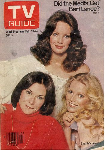 Charlie's Angels, February, 1978 I honestly don't remember why I saved this February, 1978 issue of TV Guide, but I did. Found it while cleaning out my father's house recently.