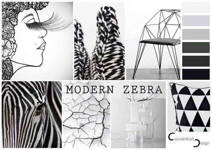 Modern Zebra - Woontrend 2015 - KroftDesign