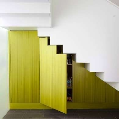 Under Stairs Shelves