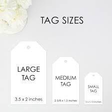 Αποτέλεσμα εικόνας για tags size