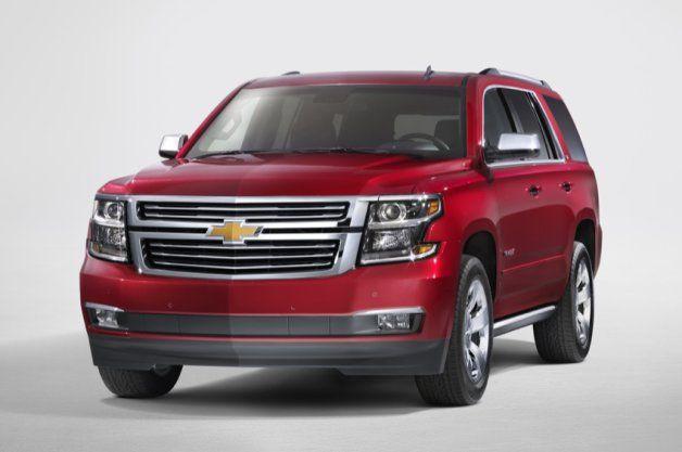 2015 Chevy Tahoe, Suburban and GMC Yukon unveiled