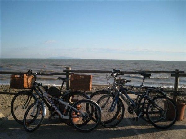 Maremma National Park - cycling to the beach.