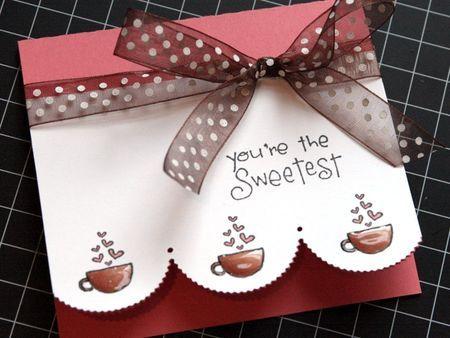 You're the Sweetest #card by Jenn Biederman