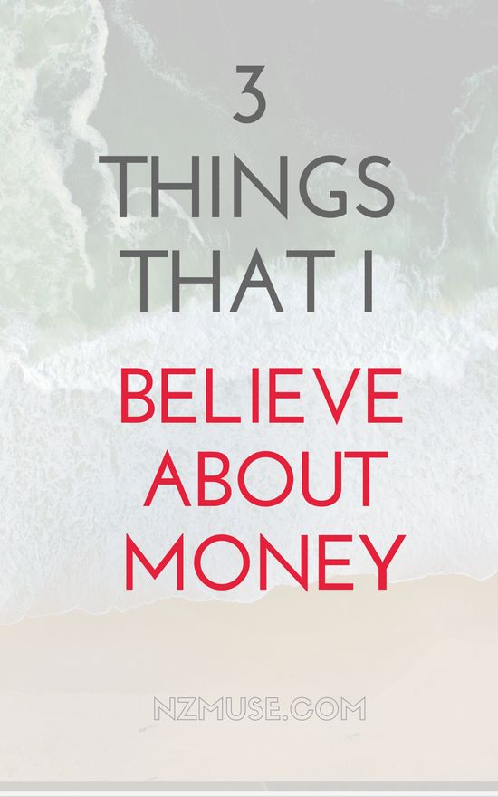 I've learned a lot about money in my 20s. Not just practical tips, but approaches to it and ways of thinking about it. Here are 3 things I firmly believe about money.