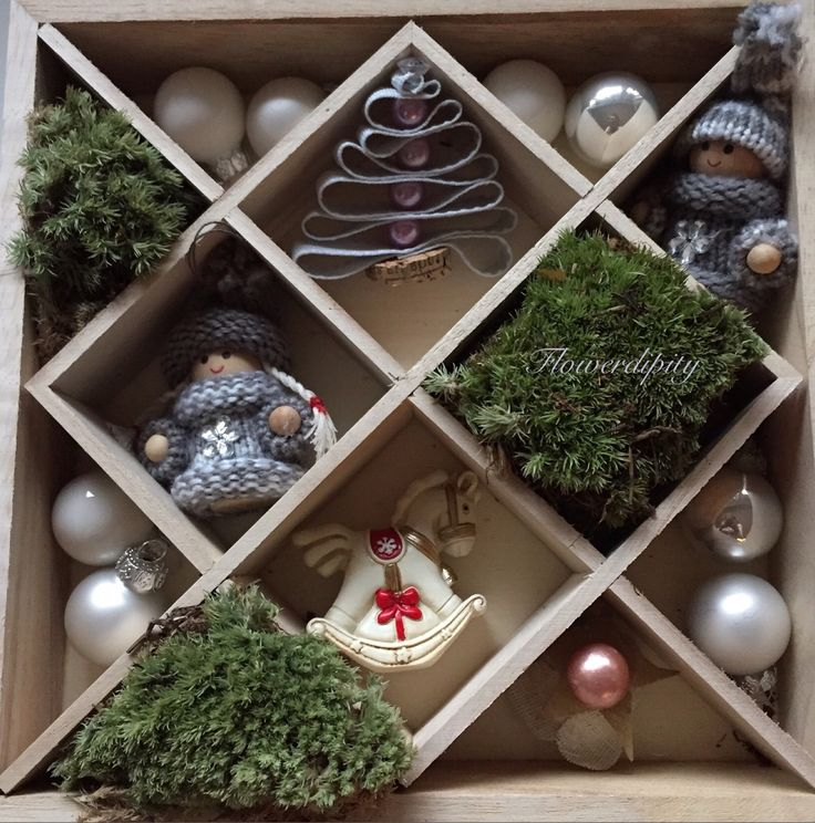 Christmas in a box #flowerdipity #christmas #box #decorations #corporate #gift