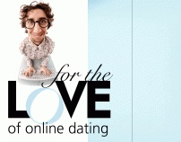 For the love of online dating by Tarien Lampen, via Behance