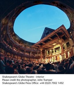 Globe Theatre - One of the exciting sites you'll visit on our London Theatre Program. Participants will see 8 shows, ranging from fringe productions to West End productions!