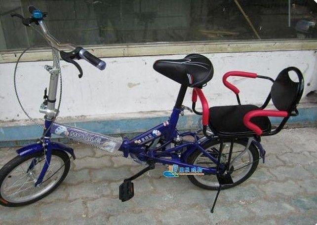 Kids Bike Rear Seat Electric Bicycle Seat Backseat Child Back Seat