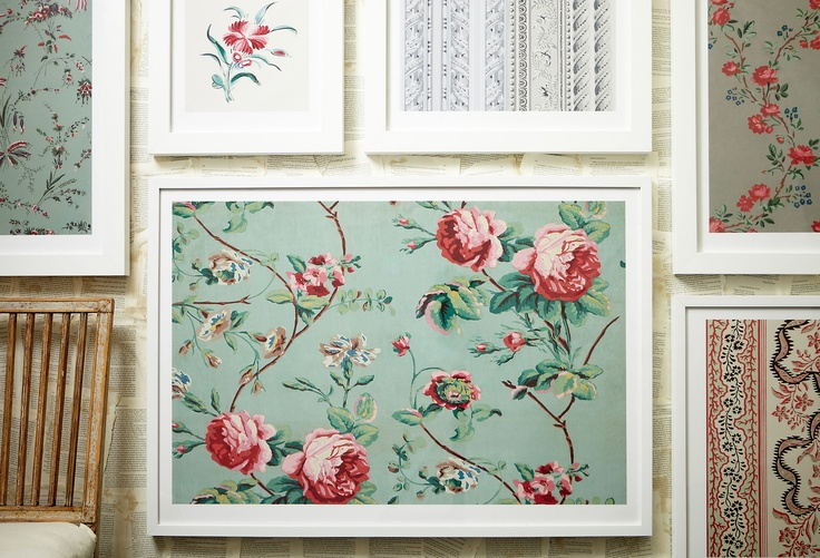 30 Best Framed Wallpaper Images On Pinterest