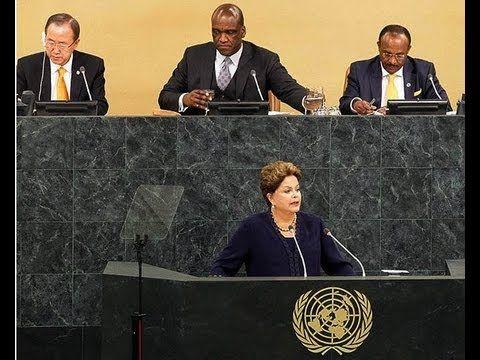 "Rousseff: ""Llegó el momento de impedir que el ciberespacio sea usado como arma de guerra"""