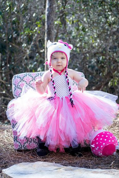 DRESS ONLY Pinks Hello Kitty Baby and Little by HandpickedHandmade on etsy. Hello Kitty Dress or Hat and Dress set as a costume party dress or Halloween Tutu Costume find it also in our storenvy store at www.handmadehandpicked.storenvy.com Hello Kitty Halloween Costume Tutu Dress Set Handmade Super Fluffy Extra Layers Traditional Hello Kitty Girls and Teen and Womens available