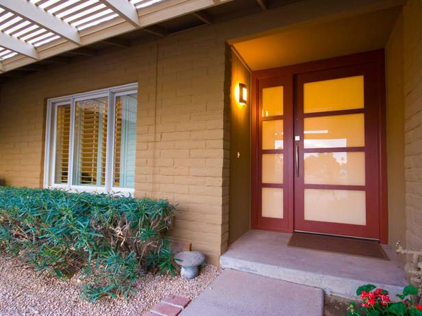 Feng shui says a red door invites good energy.