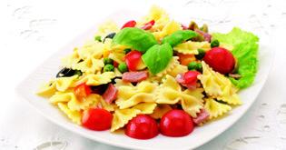 Lagris | Farfalle s mozzarellou a šunkou