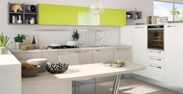 Dise os de cocinas peque as y sencillas con desayunador - Disenos de cocinas pequenas y sencillas ...