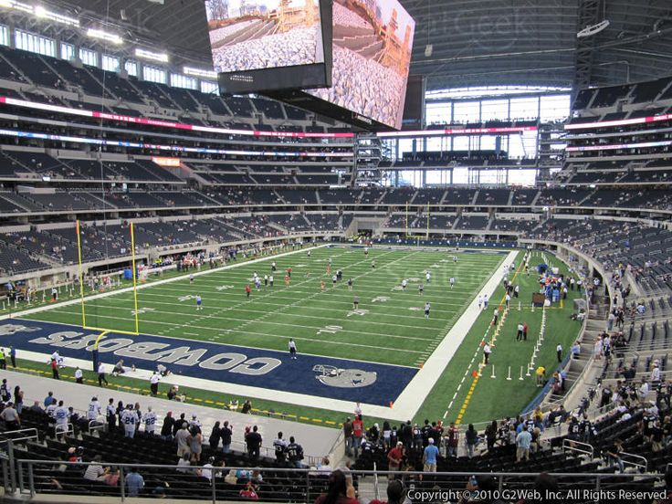 Saw the Cowboys play at AT&T Stadium! 10th row...these were our seats!!!