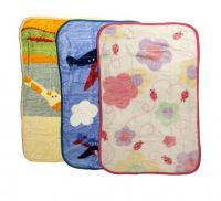 £5.99 - Soft Touch Baby Blankets Luxury Plush Blanket Approx 76cm x 114cm Machine Washable 80% Acrylic / 20% Polyester