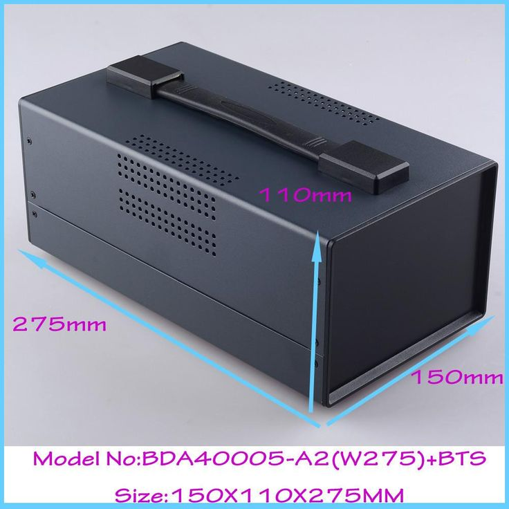 [Visit to Buy] (1pcs)150x110x275mm instrument enclosure electronic steel iron box project box enclosures for electronics outlet case #Advertisement