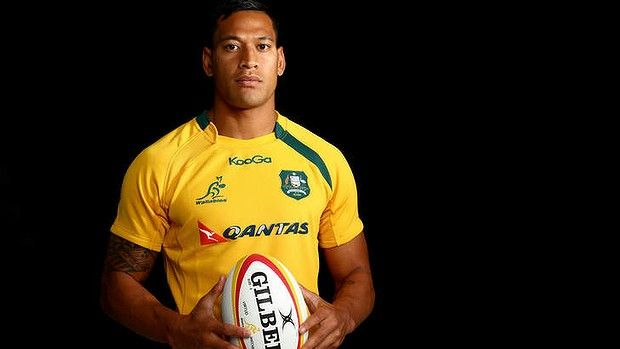 Israel Folau this beauty :)