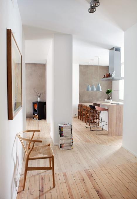 Leilighet med skandinavisk design - Mote, minimalisme og millimeterpresisjon - Rom123