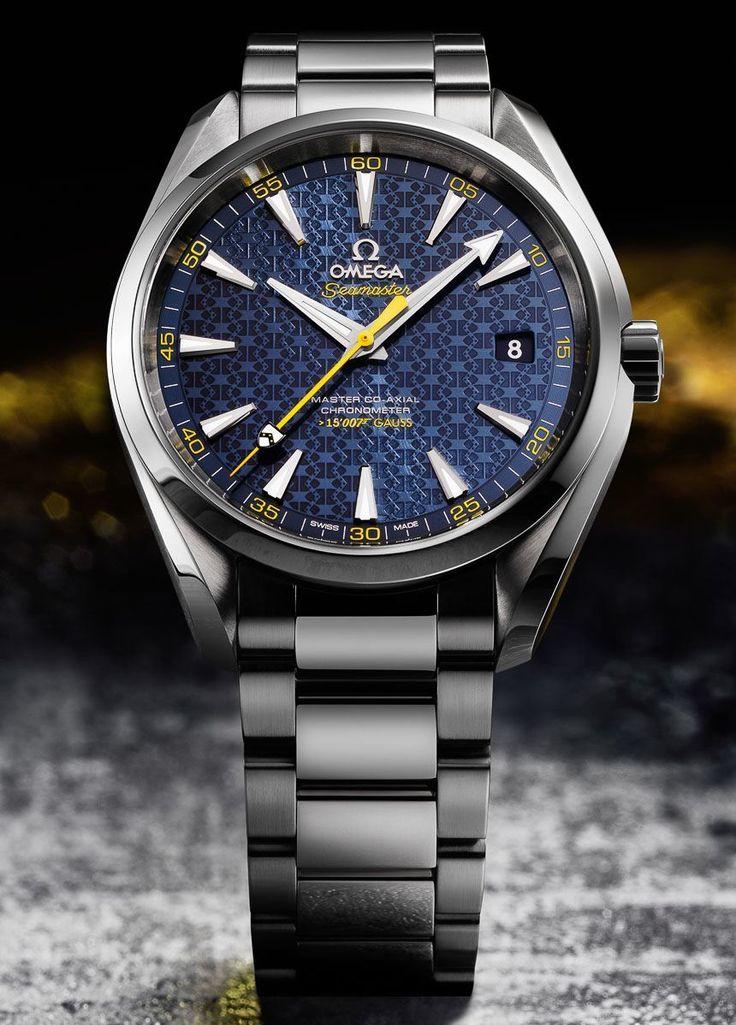 James Bond 007 Spectre Movie Gets First Watch: Omega Seamaster Aqua Terra > 15,007 Gauss
