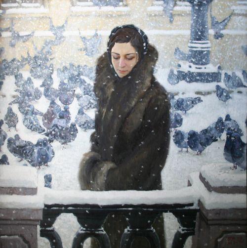 Evgeny Mukovnin 1976 - Russian painter: