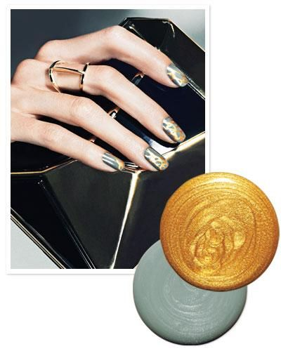Seven Amazing Nail Art and Manicure Designs You Have To Try Now - Luxe Paint Splatter from #InStyle