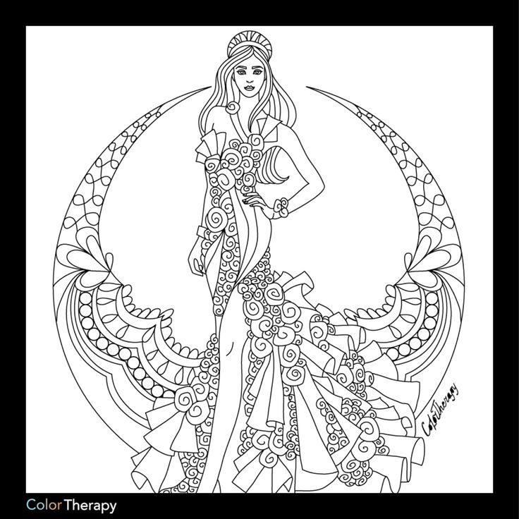 1970 best adult color images on pinterest adult coloring for Therapy coloring pages