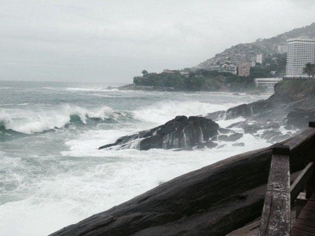 Rio deve ter ressaca até a próxima terça-feira (27) (Foto: Guilherme Brito/G1)