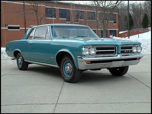 1964 Pontiac Tempest GTO — 4.6 seconds