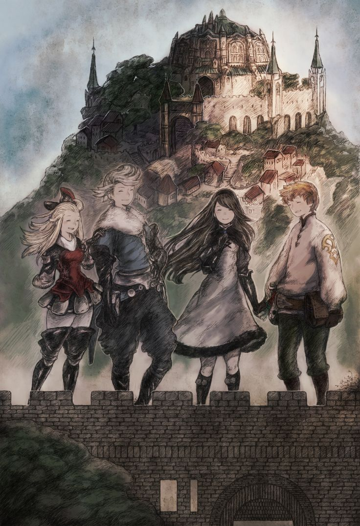 Bravely Default. Dumb name. Fantastic game.
