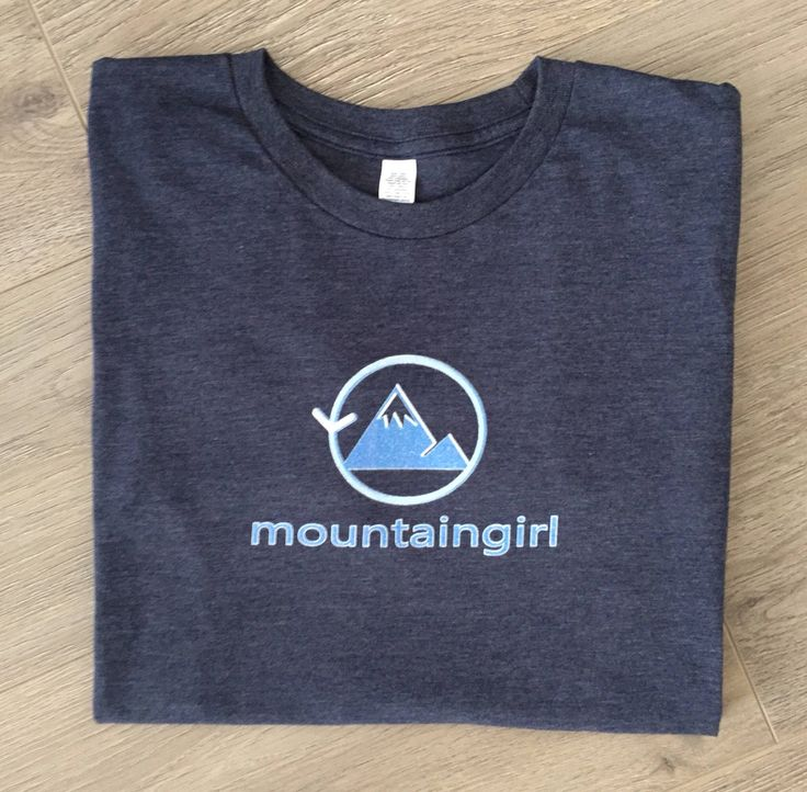 Mountain Girl Tee | Women's (Unisex) Tri-Blend Mountain T-Shirt